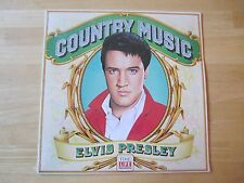 Sealed Elvis Presley LP, Country Music, Time-Life Records, 1981