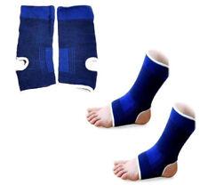 2 X Ankle Support Elastic Neoprene Feet Protector Running Injury Brace Gym Yoga