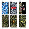 Camo bape Camouflage Army Pattern Case Cover For iphone 7 6S Plus S8 S7