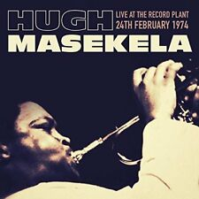 HUGH MASEKELA - LIVE AT THE RECORD PLANT 1974   CD NEU