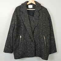 IRO | Womens Franelli Wool Blend Cocoon Coat  [ Size AU 12 or US 8 / EUR 40]