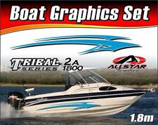 Boat Graphic Sticker Kit, Vinyl stripe decal for Marine or Automotive. TS_2A1800