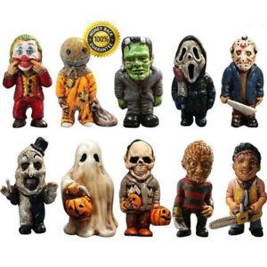 Garden Statue Resin Ornaments Halloween Zombie Gnomes Horror Movie Garden Decor