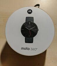 Used Smart Watch Motorola 360 Blue 1st Generation