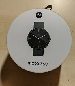 Used Smart Watch Motorola 360 Blue 1st Generation