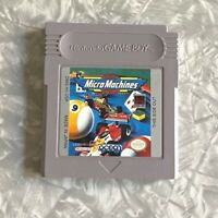 Micro Machines Racing Nintendo Gameboy Cartridge Cleaned & TESTED Fast Ship! VG