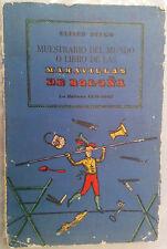 ELISEO DIEGO MUESTRARIO DEL MUNDO O LIBRO DE LAS MARAVILLAS DE BOLOÑA CUBA POEMS
