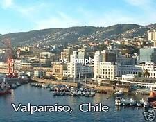 Chile - VALPARAISO - Travel Souvenir Flexible Fridge Magnet