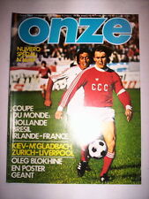 ONZE N°16 1977 COUPE DU MONDE : HOLLANDE BRESIL IRLANDE FRANCE