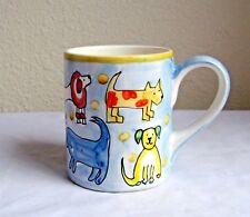 Danica  12 Oz. Spot Brand Assorted Children's Dog Drawings Coffee Mug  Cup   MB4