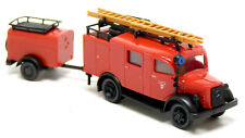 Roco 1335 MB Mercedes L 1500 S LKW LF 8 TSA Feuerwehr Neustadt Donau rot 1:87 H0