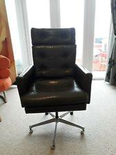 Vintage Retro Mid Century  Desk Office Swivel Chair RING MOBElFABRIKK