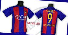 Luis suarez los aficionados al fútbol para hombres Camiseta FC Barcelona Talla S