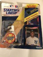 1992 Starting Lineup Figure SLU MLB Danny Tartabull New York Yankees w/Poster