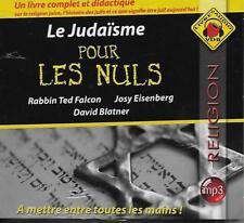 LIVRE AUDIO MP3 / RELIGION : LE JUDAÏSME POUR LES NULS - RABBIN TED FALCON  NEUF