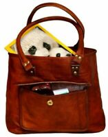 Women Real Leather Vintage perfectly Soft Leather Messenger Cross Body Bag Purse