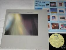 WILLIAM ACKERMAN Past light visiting LP WINDHAM HILL 1983 Folk ambiante
