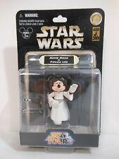2007 Disney World Star Wars MINNIE AS LEIA IN WHITE DRESS Series 1 Action Figure