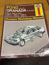 Haynes Manual Ford Granada And Scorpio