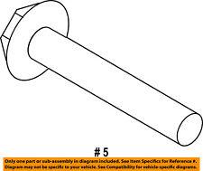 FORD OEM Axle-Rear-Front Bracket Mount Bolt W713481S439