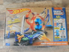2016 Hot Wheels Power Booster Kit Rocket Edition 45+ Pieces Track Builder System