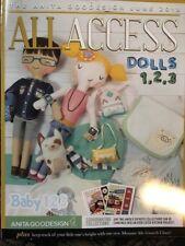 Anita Goodesign ALL ACCESS VIP Club JUNE 2018  Embroidery Design CD & BOOK