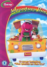 BARNEY ADVENTURE BUS INCLUDES - 17 SONGS BRAND NEW AND SEALED UK REGION 2 DVD