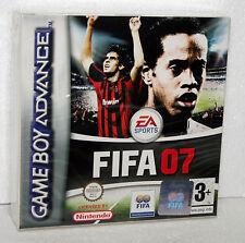NINTENDO GAME BOY ADVANCE FIFA 07 NUOVO SIGILLATO MANUALE/TESTI ITA AUDIO ENG