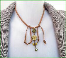 Pilgrim Women's Jewelry Swarovski Crystals Enamel Flower Pendant Necklace