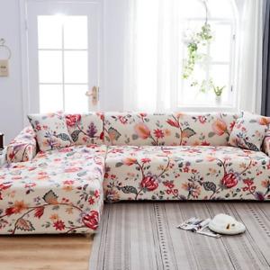 L Shaped  Sofa Cover Slipcovers Elasticity Sofa Towel Cover Corner Sofa Protect