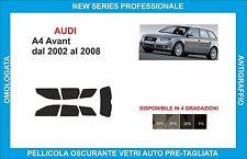 pellicole oscuranti vetri audi a4 avant dal 2002 al 2008 completo