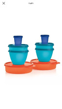 NEW tupperware little bit of everything bowl set wonders midget snack cup store