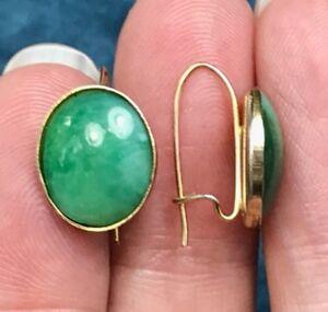 GF,Gold,Gemstone,Goldfilled ear studs,Eyecatcher,Woman/'s gift,Apple blue Sea green,unique green,aqua,Azurite Chrysocolla,Earrings,woman,14k