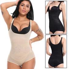 Women Compression Full Body Shaper Firm Control Tummy Underwear Slim Jumpsuits