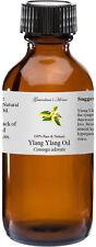 Ylang Ylang Essential Oil - 2 oz - 100% Pure and Natural - Free Shipping
