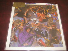 RED HOT CHILI PEPPERS FREAKY STYLEY 180 Gram DELUXE PACKAGING RARE UK PRESSED LP