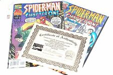 'Spider-Man Chapter One #1 & #2' Collected Edition Signed John Byrne Certificate