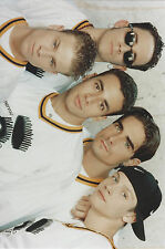 Backstreet Boys 7 X 10 Photo With Ultra Pro Toploader