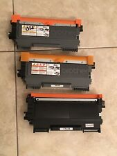 Lot of 3 Brother or Compatible TN 450 Empty toner cartridges for TN450 to REFILL