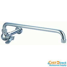 "Commercial Manual Wok Faucet w/ 14"" Spout AA-513G California Style Faucet"