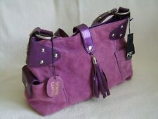 Florence & Fred Suede Leather Shoulder Bag Brand New with Tags