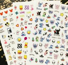 30+ Styles Nail Art sticker Quality Kawaii barbie pokemon kids Cartoon Decal UK