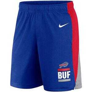 Brand New 2021 NFL Buffalo Bills Nike Broadcast Performance Dri-FIT Shorts NWT