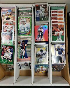 2,400 Football HOF STARS ONLY Favre Manning 90s Huge Lot Cards Rare Resale HOT 6
