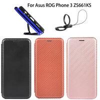 Coque protection pour téléphone boucle magnétique pour Asus ROG Phone 3 ZS661KS
