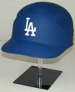 Los Angeles Dodgers MATTE BLUE Rawlings Full Size Baseball Batting Helmet 7 3/8