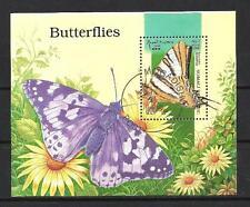 Papillons Somali (38) bloc oblitéré