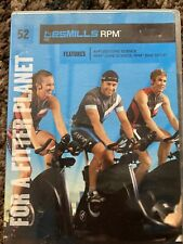 Les Mills Rpm 52 Dvd+Booklet notes! No Cd! Complete Cycling workout! Rare!