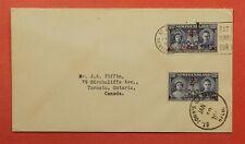 Dr Who 1945 Newfoundland Canada Overprint St John'S Cancel C219259