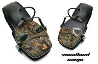 Sticker Wrap Decal  Fits: Howard Leight Impact Noise Ear Shooting Muffs WOODCAMO